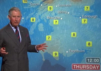 Prince Charles Weather Man