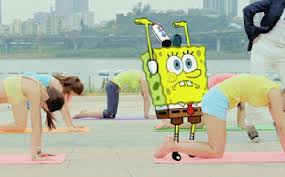 SpongeBob Yoga