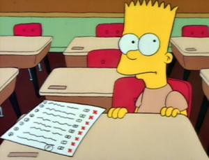 Bart Grades