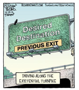 Bizarro Desired Destination