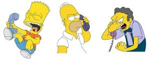 simpsons phone-call
