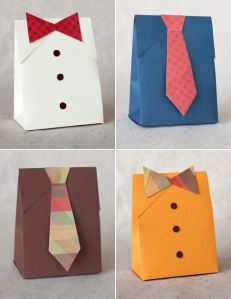 Gift boxes tie