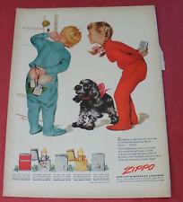 Zippo ad kids